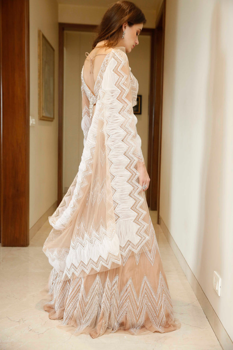 The Chevron Lehenga