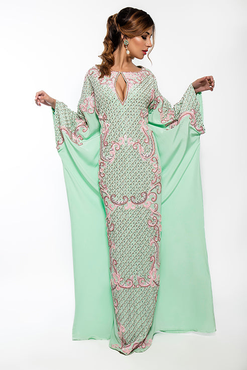 Tiffany Crystal Kaftan