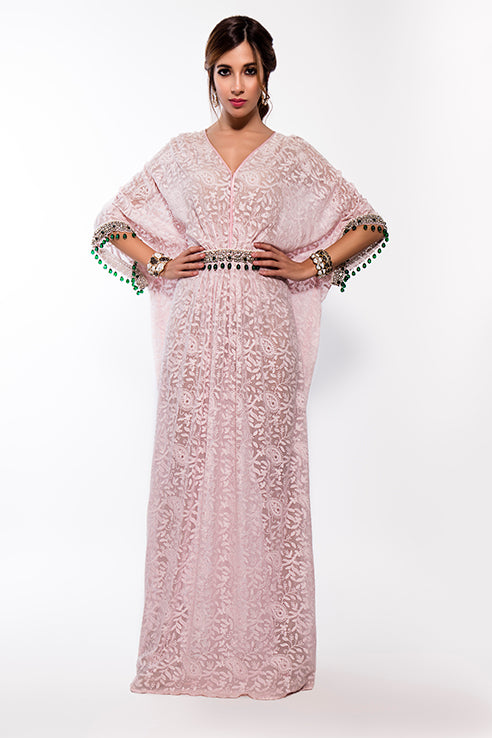 Threadwork Maharani Kaftan