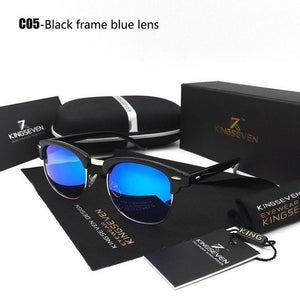 Retro Rivet New Polarized Sunglasses