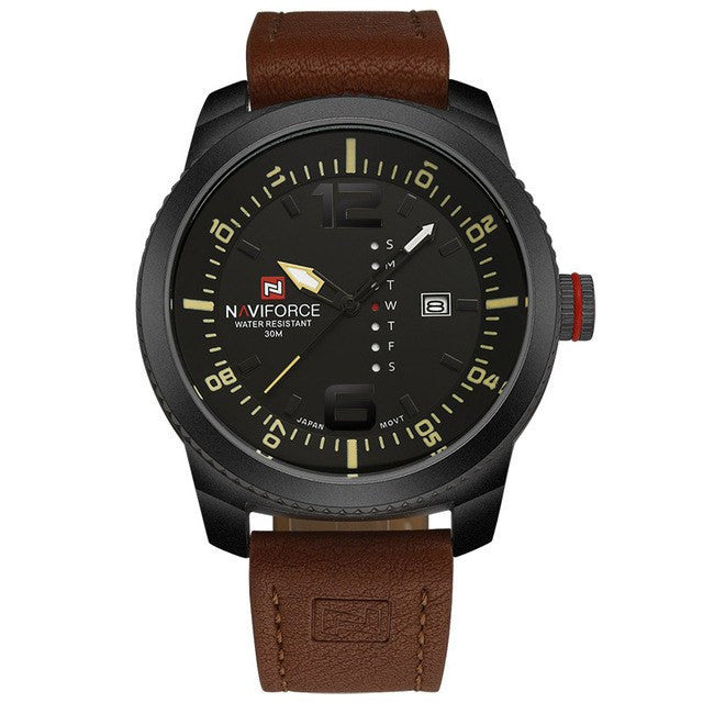 2017 Luxury Brand NAVIFORCE Men Military Sports Watches