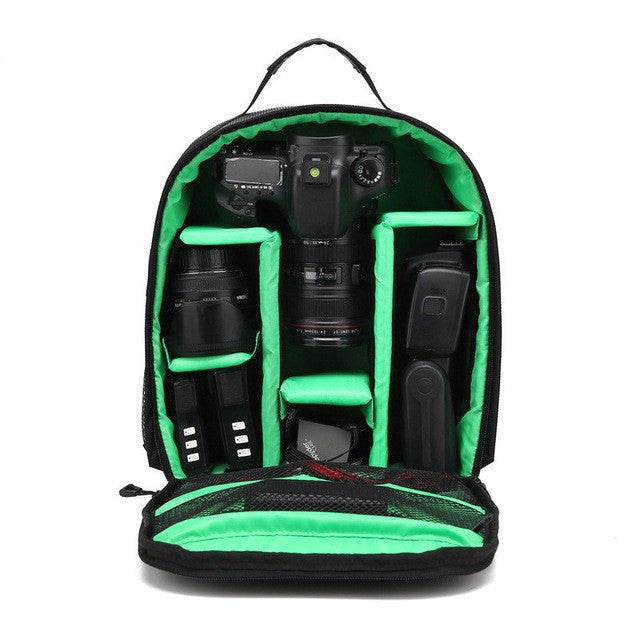 Rain Cover Small SLR Camera Bag PE Padded for Photographer
