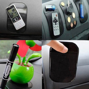 4PCs Black Universal Car Magic Sticky Pad