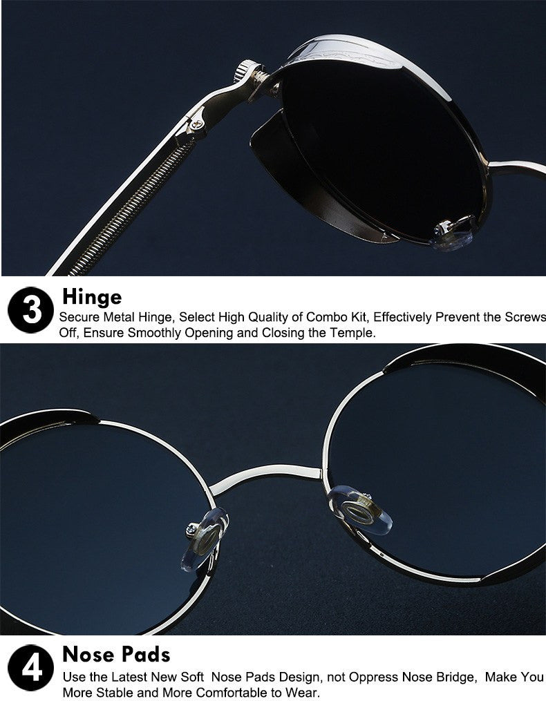 Metal Steampunk Sunglasses