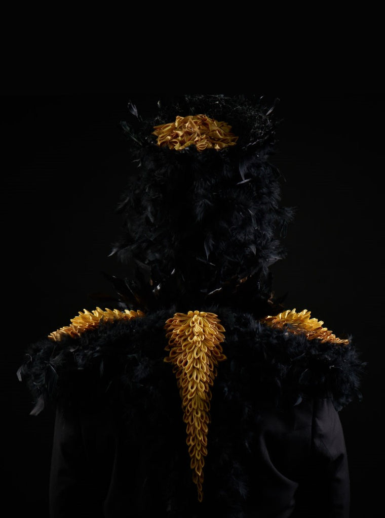 JanaRoos - Lookbook - My costume made collection - Gold& Black-out