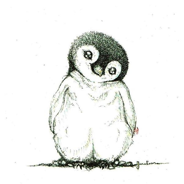 JanaRoos-Illustrations-Black&White-Penguin