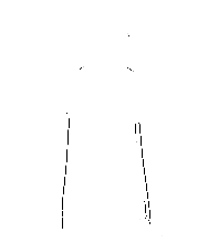 JanaRoos - women's Hoodie - Packshot - Hand drawn illustration - Round neck - Long sleeves - Cotton - black- deer- black&white
