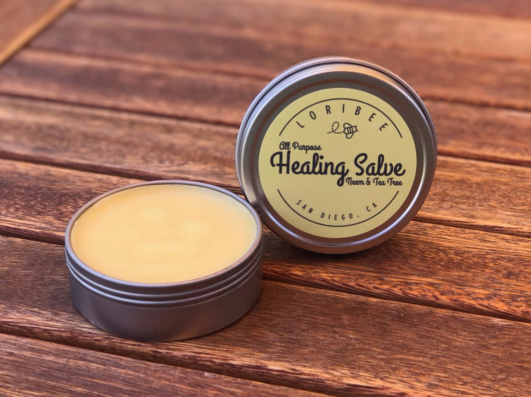 All-Purpose Healing Salve w/ Neem & Tea Trea