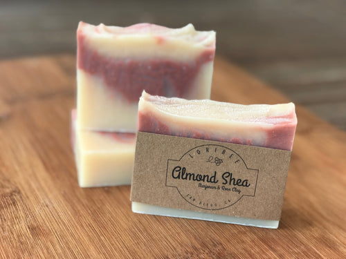 Almond Shea & Rose Clay Bar