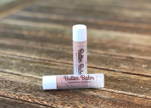 Grapefruit Mango Butter Shimmer Lip Balm