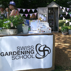 Seedball Switzerland at the Chateau de Coppet with Swiss gardening school