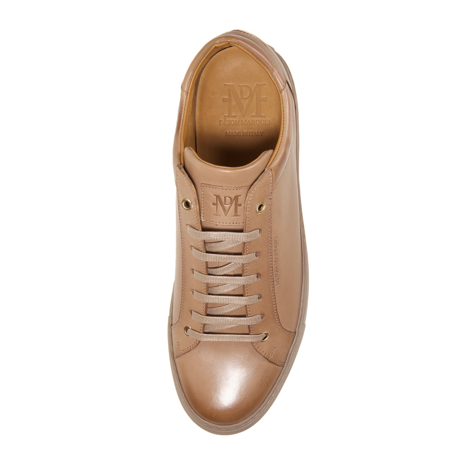 PRE-ORDER : BEIGE LOW TOP TAILORED SNEAKER
