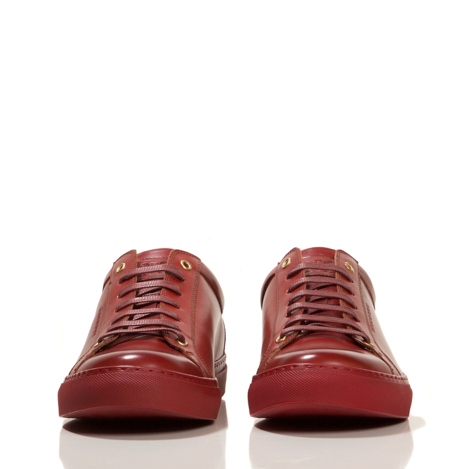 PRE-ORDER : CHERRY LOW TOP TAILORED SNEAKER