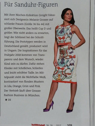 Greight big boobs fashion in der Textilwirtschaft