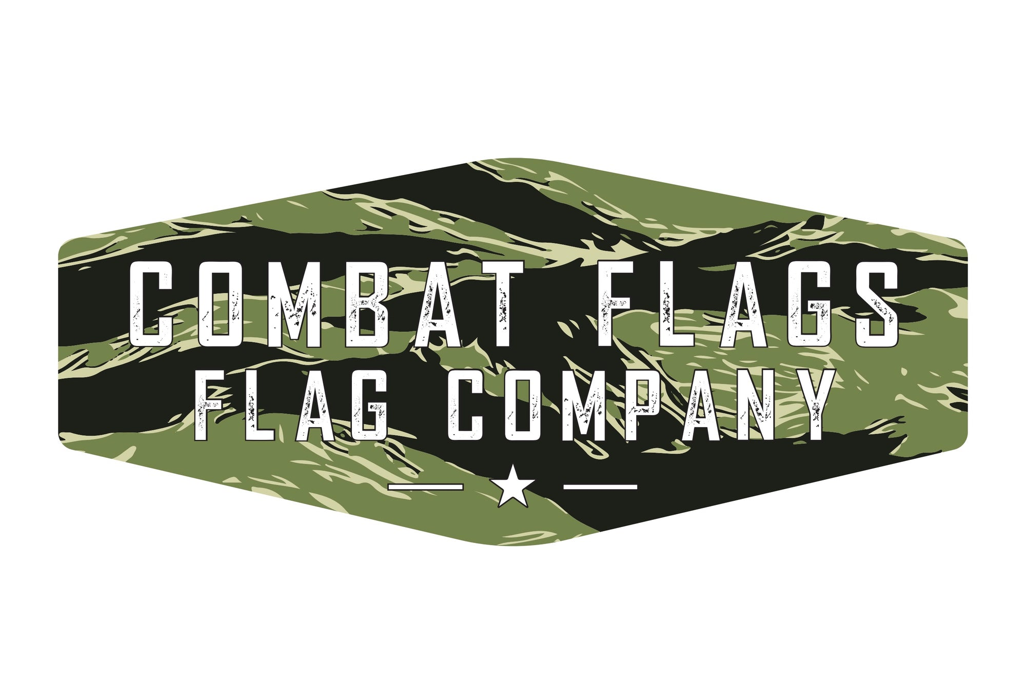 Combat Flags Gift Card - Camo American Flag