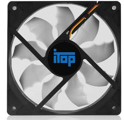 120mm , 2000RPM cooling fan , best noise and airflow balance solution