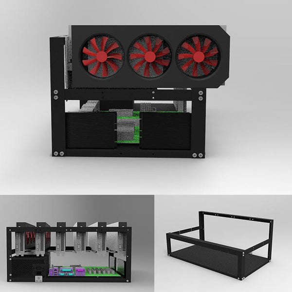 6 GPU ming metal case
