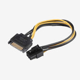Sata to pcie 6pin adapter cable , extra power for graphics card