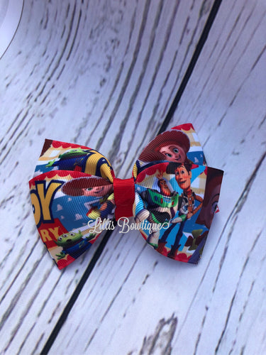Toy story pinch bow