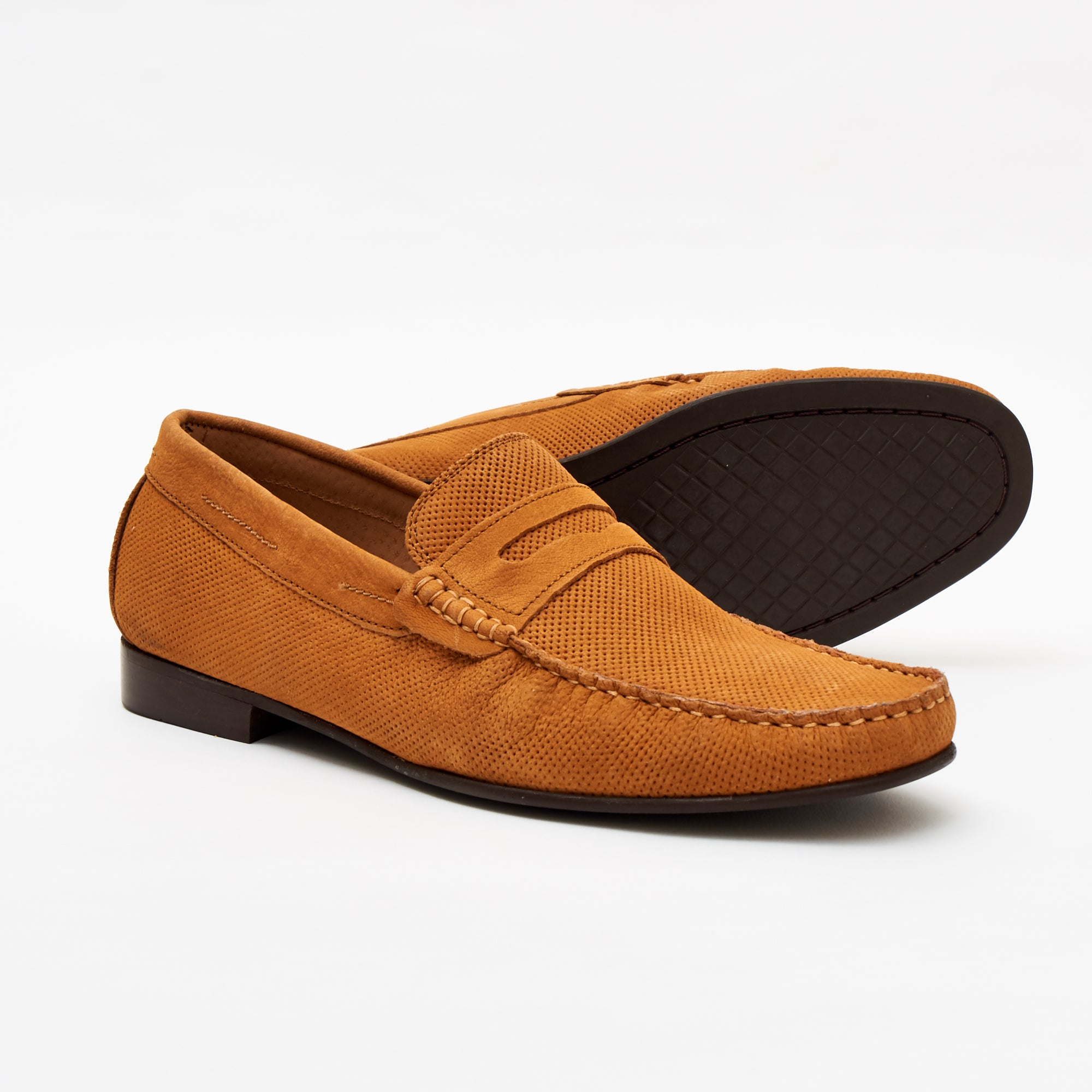 Mens Casual Nubuck Shoes-10802-A_Tan