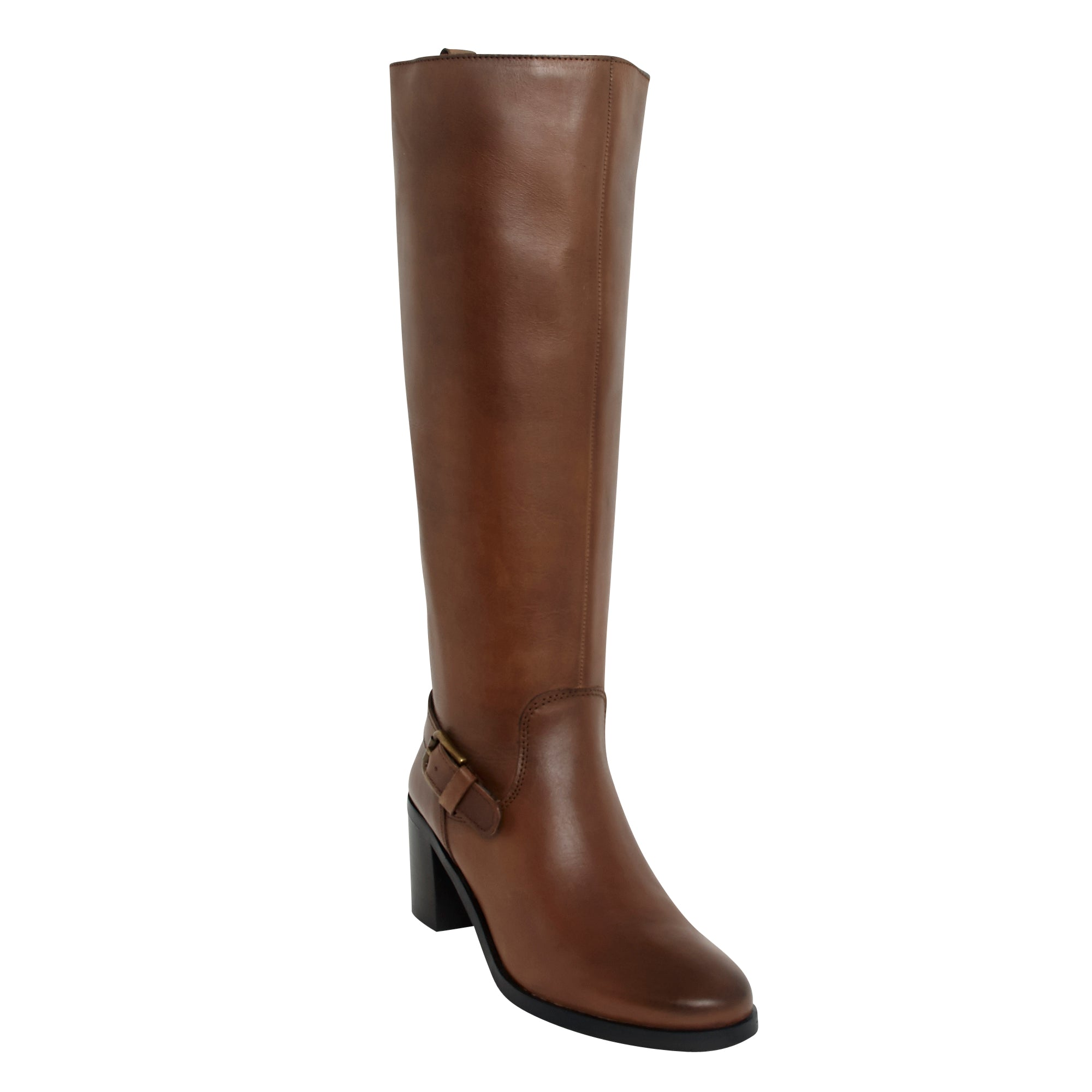 Ladies Long Boots - 110002 Cigar