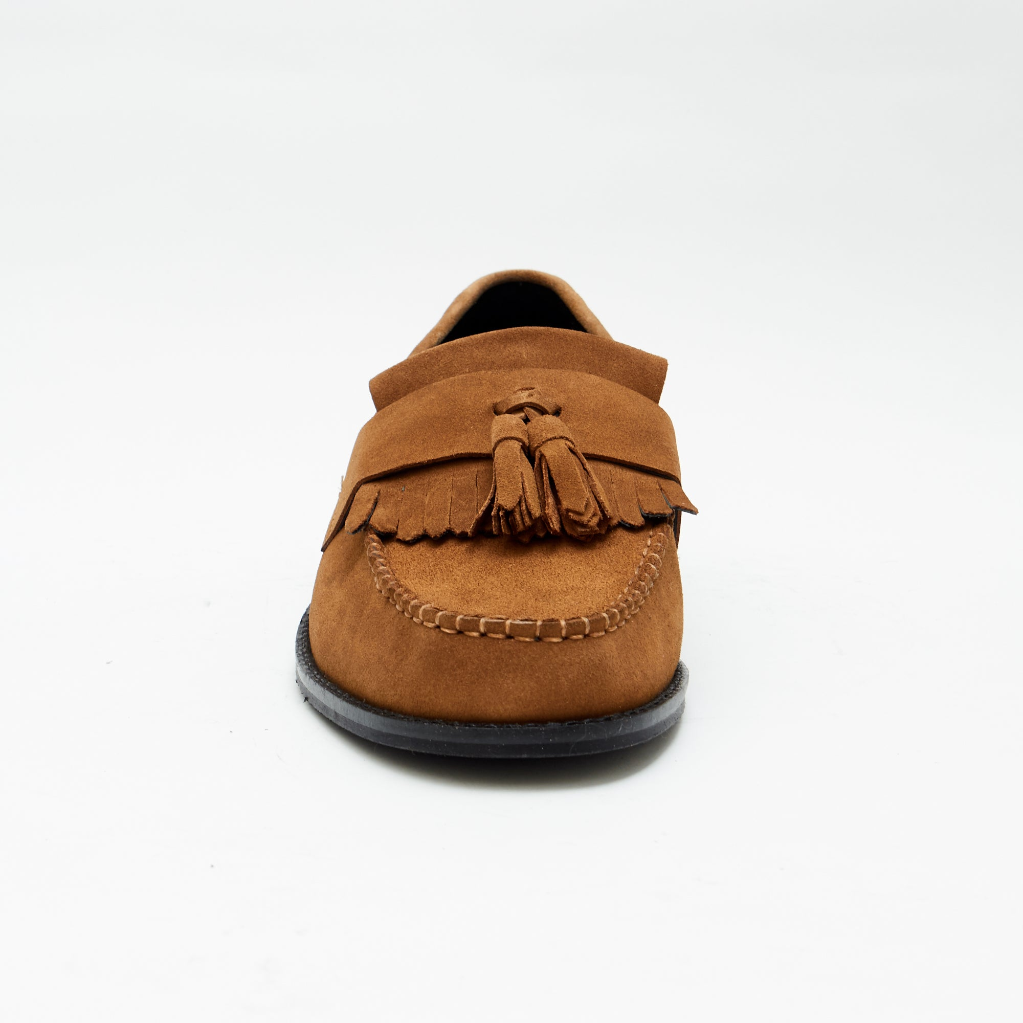 Mens Formal Moccasin Shoes 17999_Snuff Suede