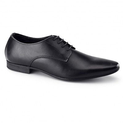 Mens Leather Smart Formal Lace Up Shoes - KG-11293A