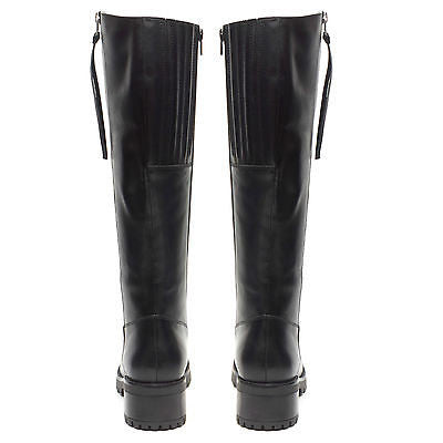 Ladies Long Boots - 65782 Black
