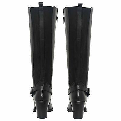 Ladies Long Boots - 110002 Black