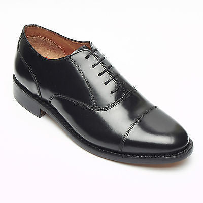 Mens Leather Oxford Goodyear Welted Shoes - 28013