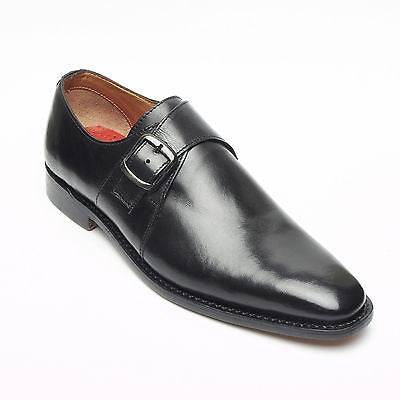 Mens Goodyear Welted Monk Strap Shoes - M58