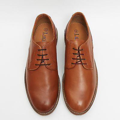 Mens Leather Formal Lace Up Shoes - 17919