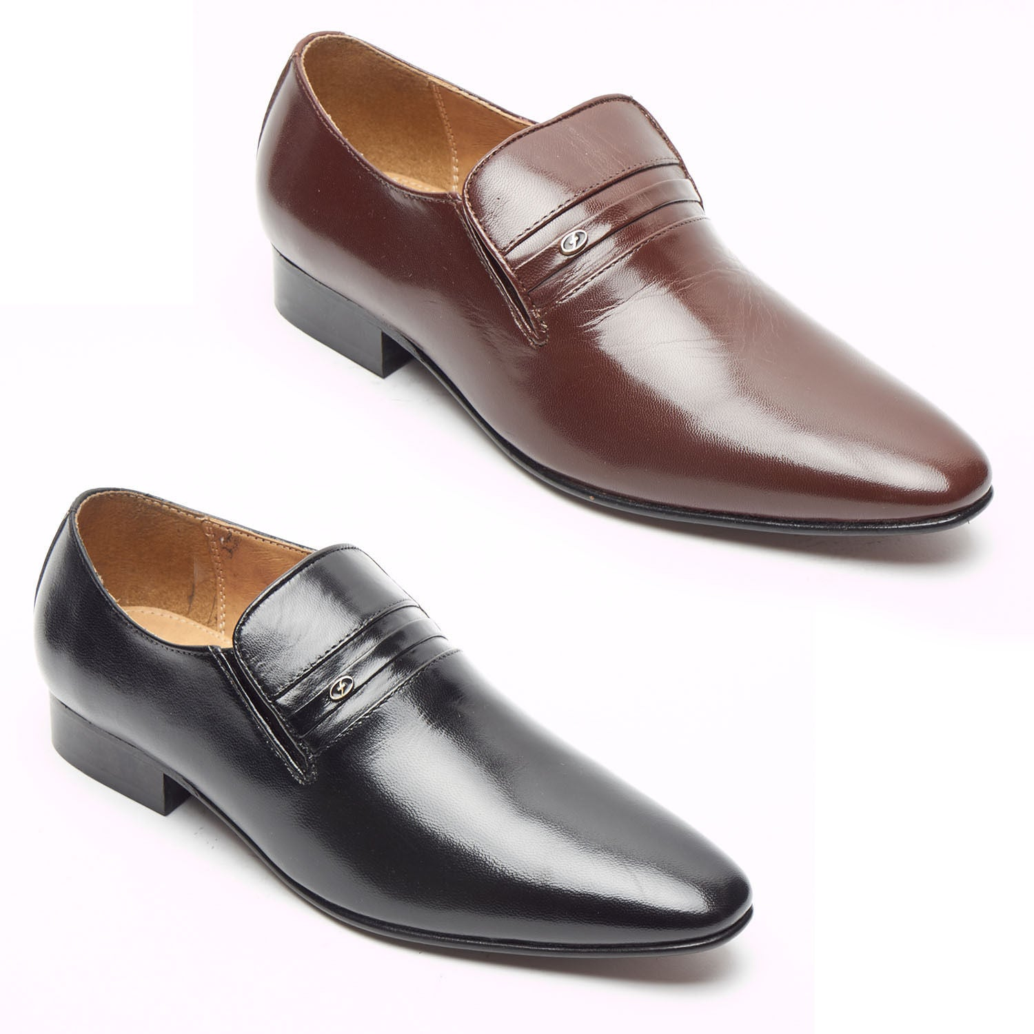 Mens Leather Spanish Shoes - 33453