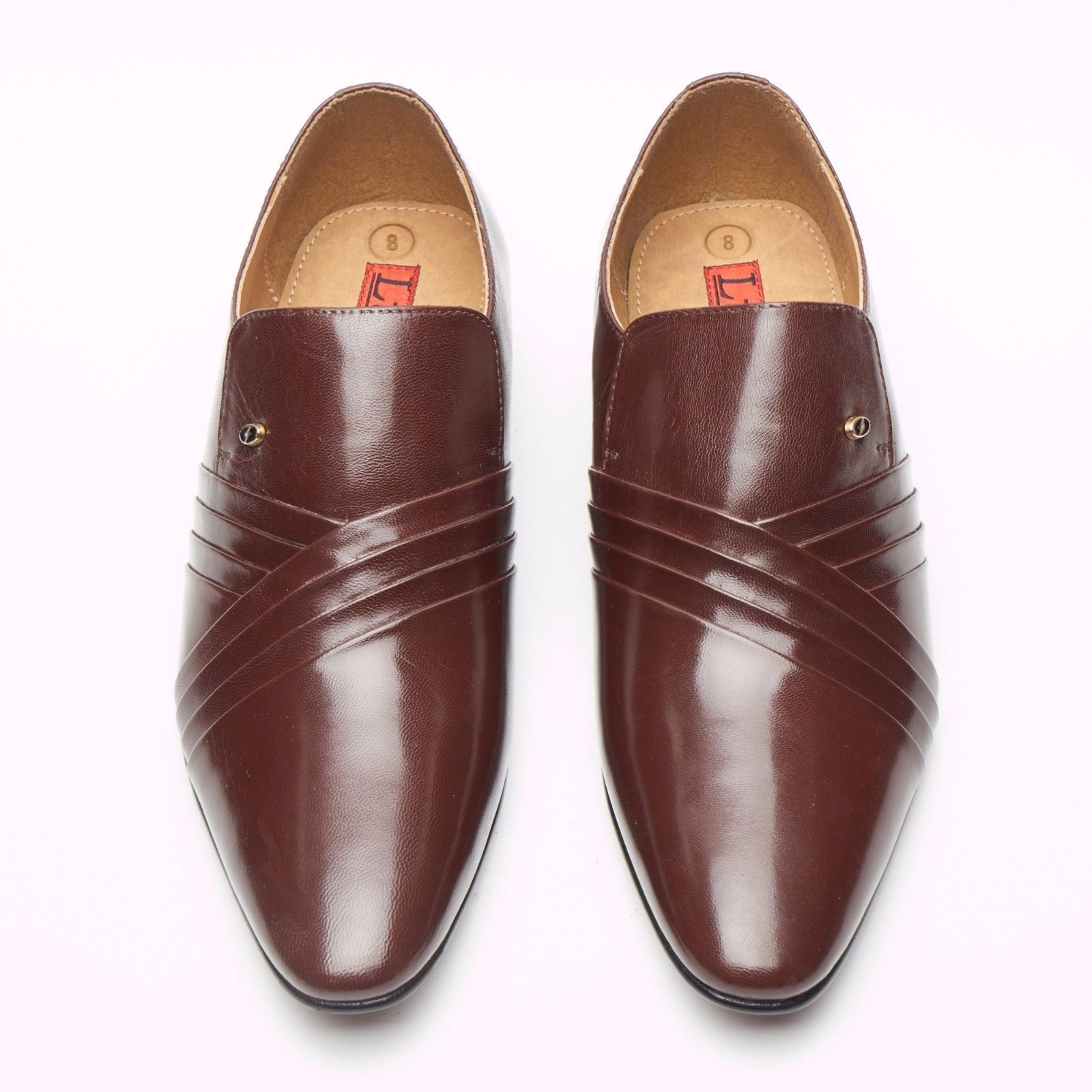 Mens Leather Spanish Shoes - 33452