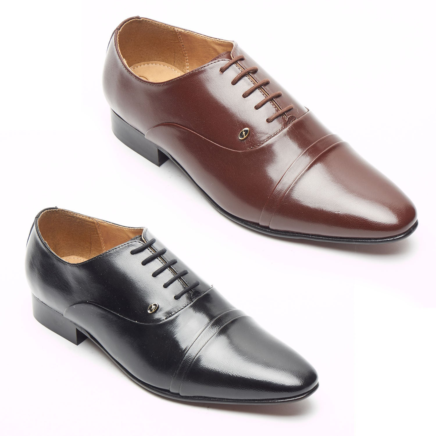 Mens Leather Spanish Shoes - 33451
