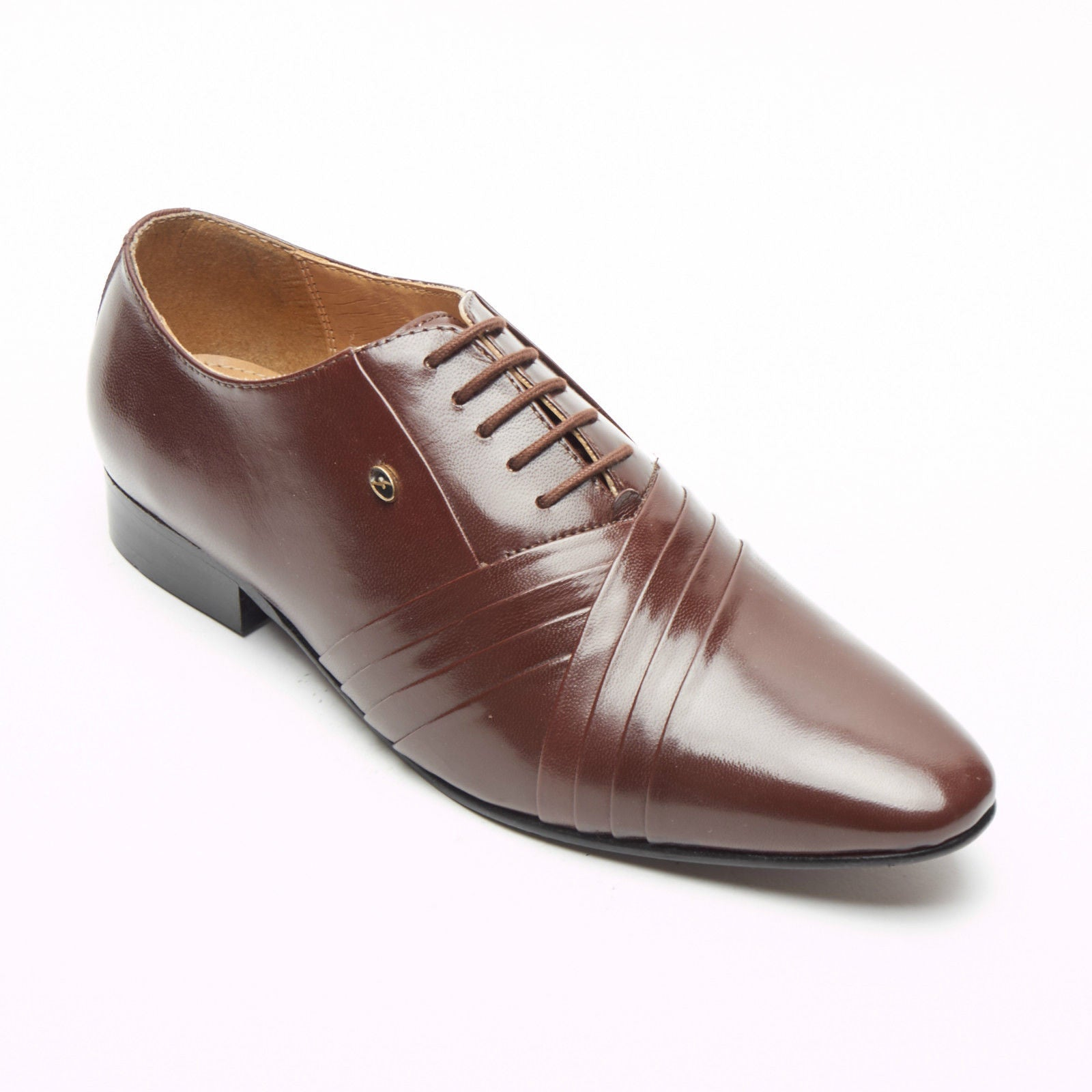 Mens Leather Spanish Shoes - 33472