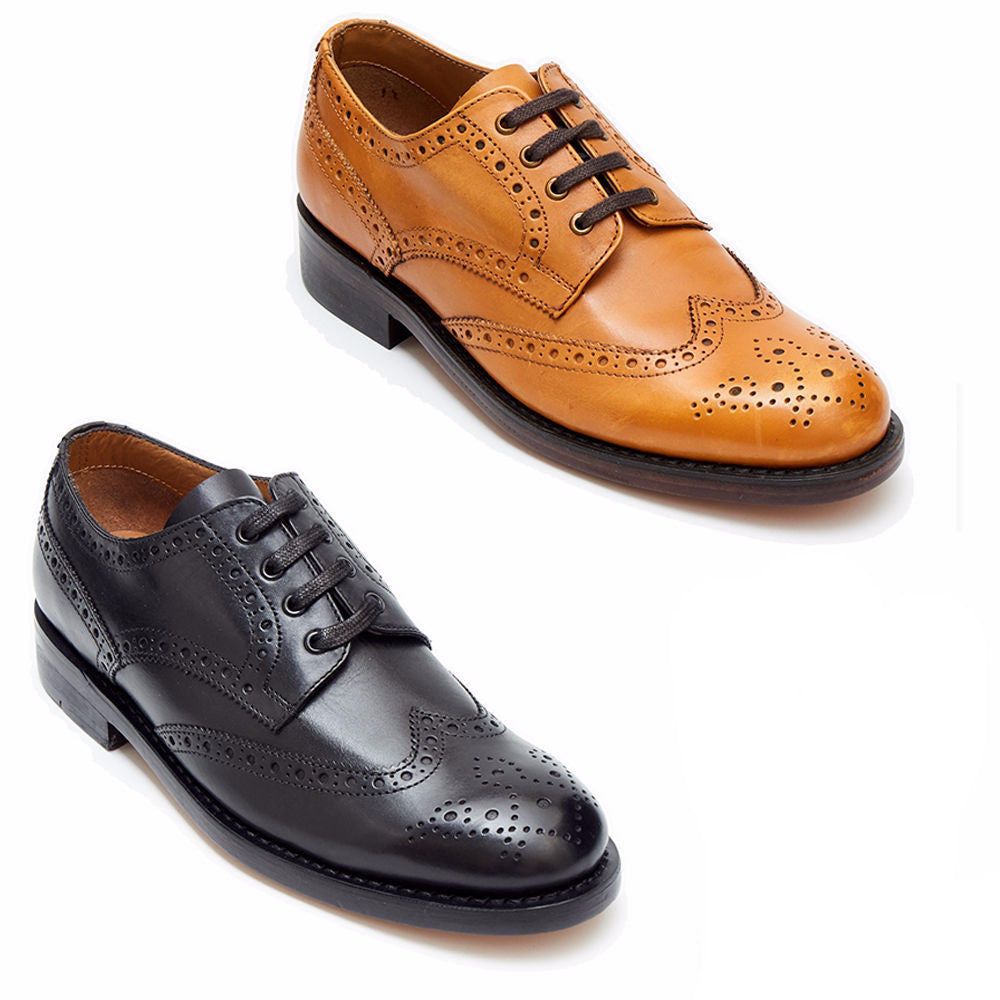 Mens Goodyear Welted Brogue Shoes -  27037