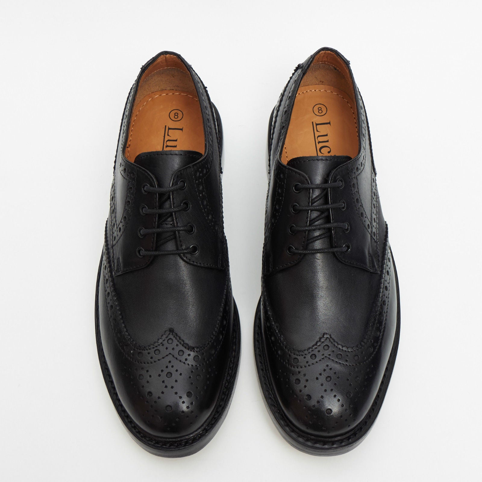 Mens Goodyear Welted Brogue Shoes - 17941