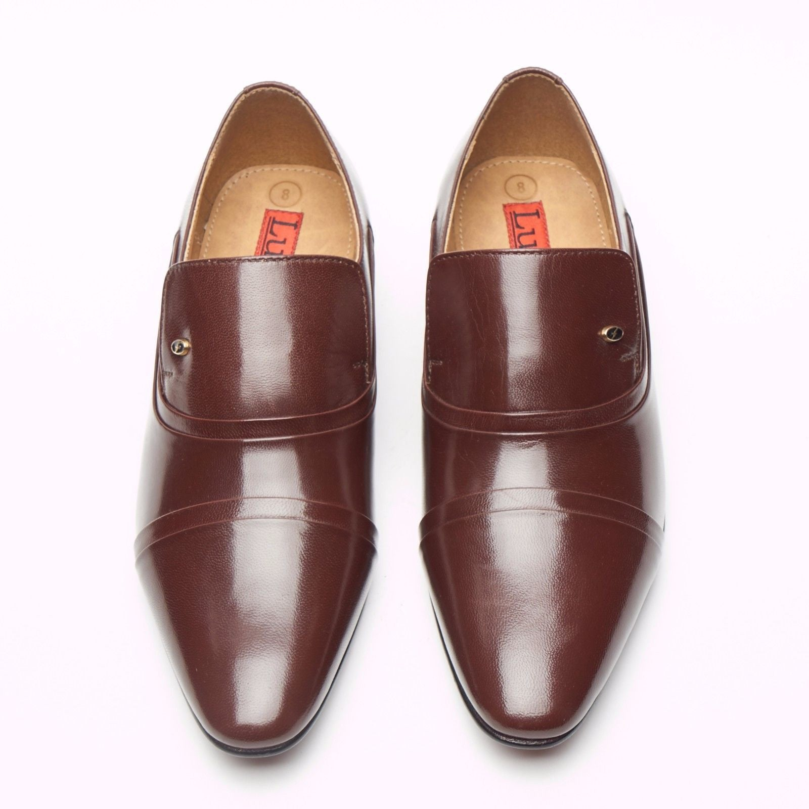 Mens Leather Spanish Shoes - 33450
