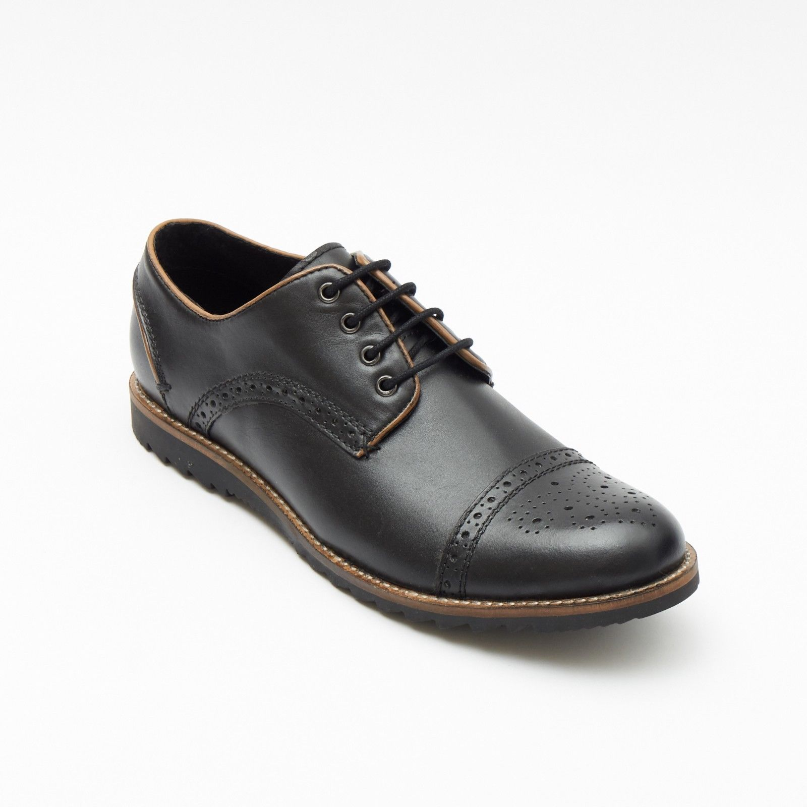 Mens Leather Formal Shoes- 50630_Black