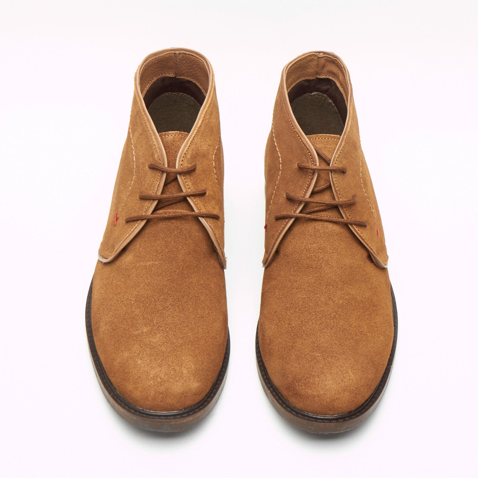 d4f27669c2574 Mens Suede Ankle Boots - SF-251-Suede Brown – Lucini Shoes