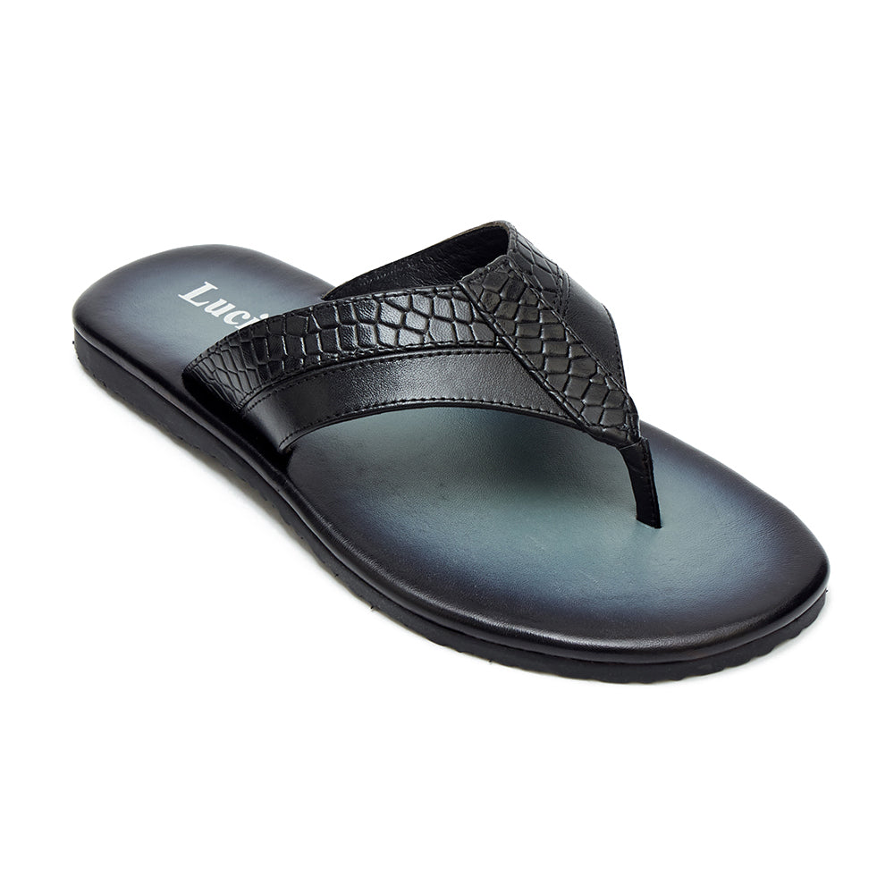 Mens Leather Summer Sandals - 62535