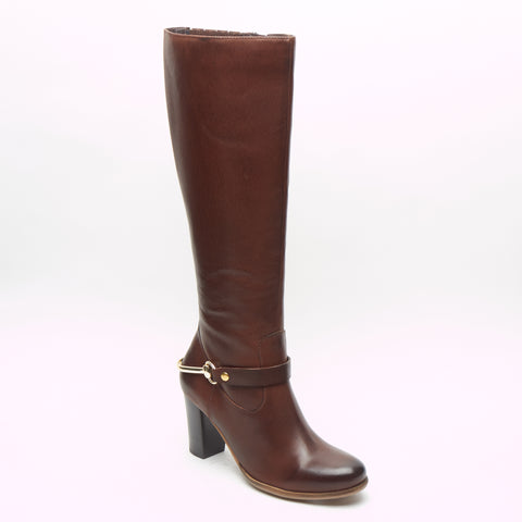 Ladies Long Boots - 65781 Brown