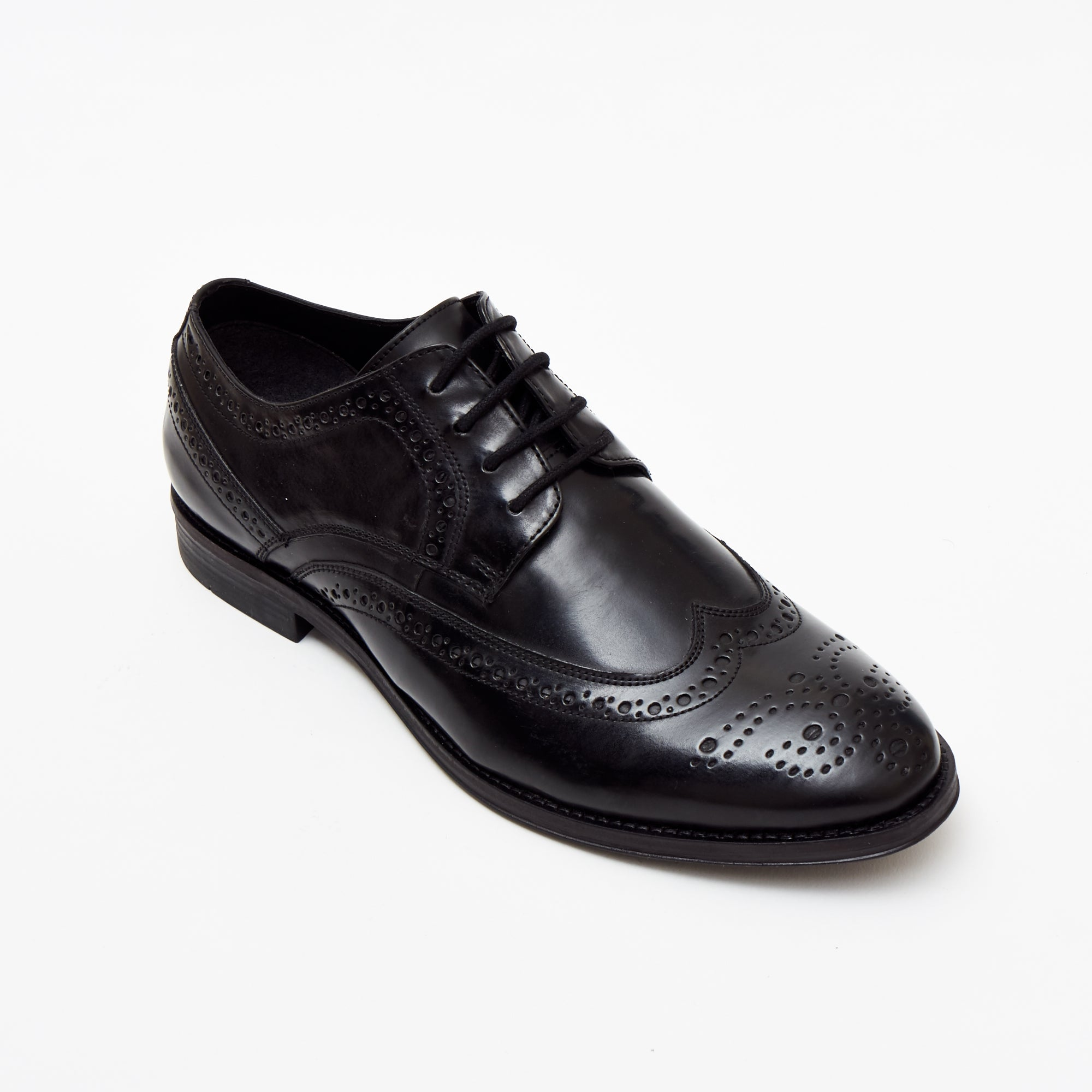 MEN'S FORMAL SHOES-7601_Black