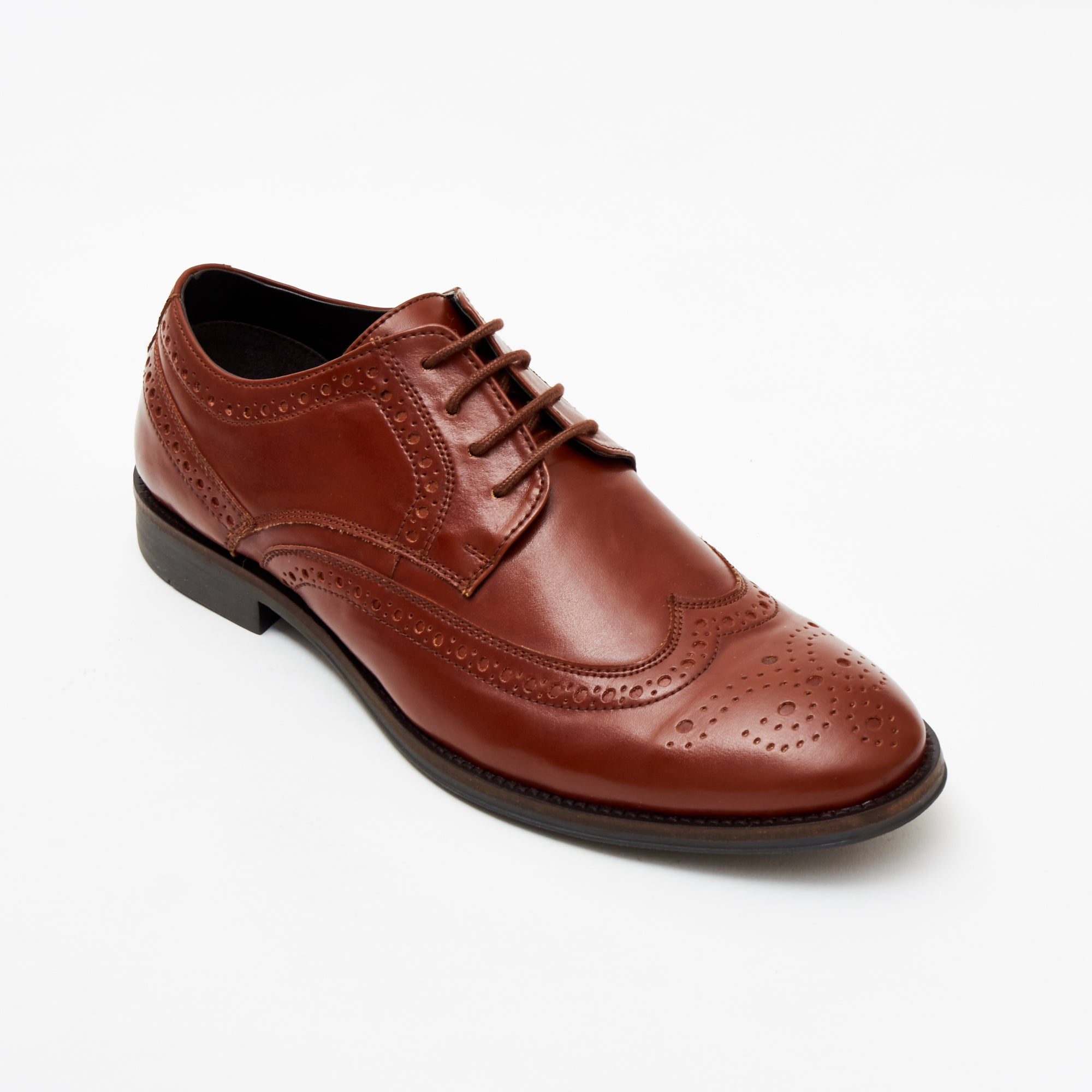 MEN'S FORMAL SHOES-7601_TAN