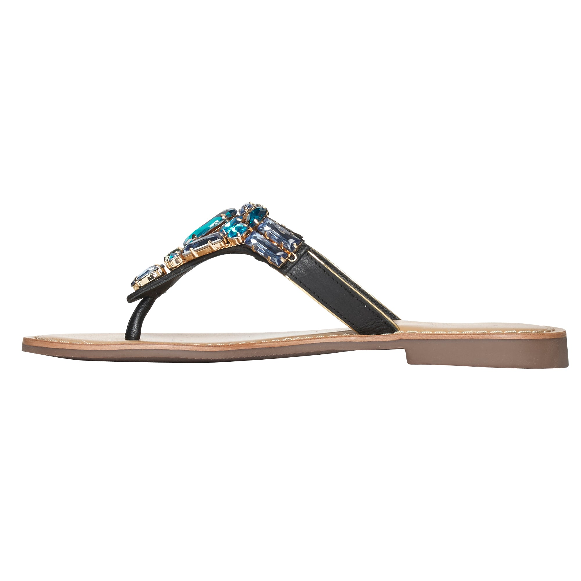 Ladies Flat Sandals IF-5383 Blue