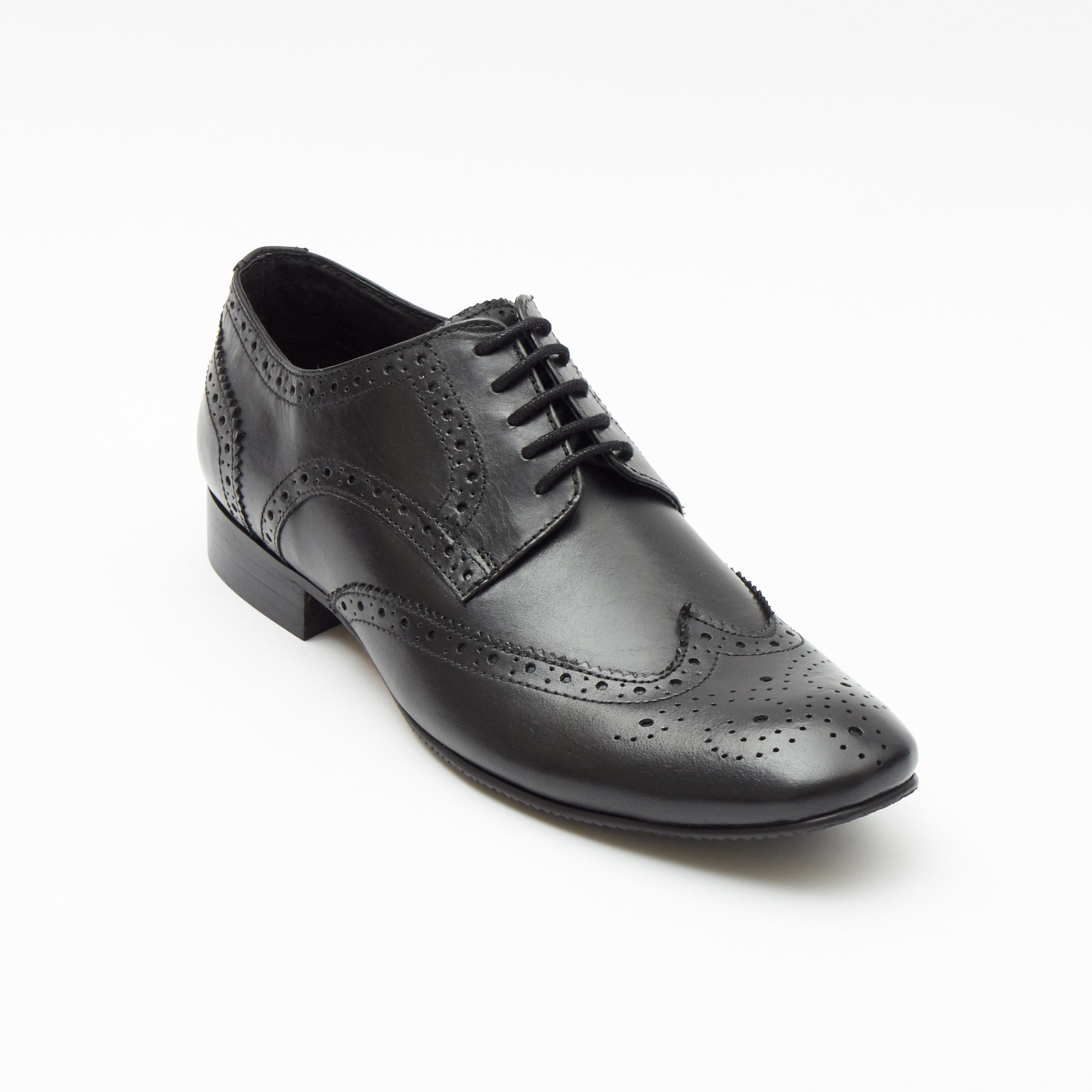 Mens Leather Formal Shoes 25201_Black