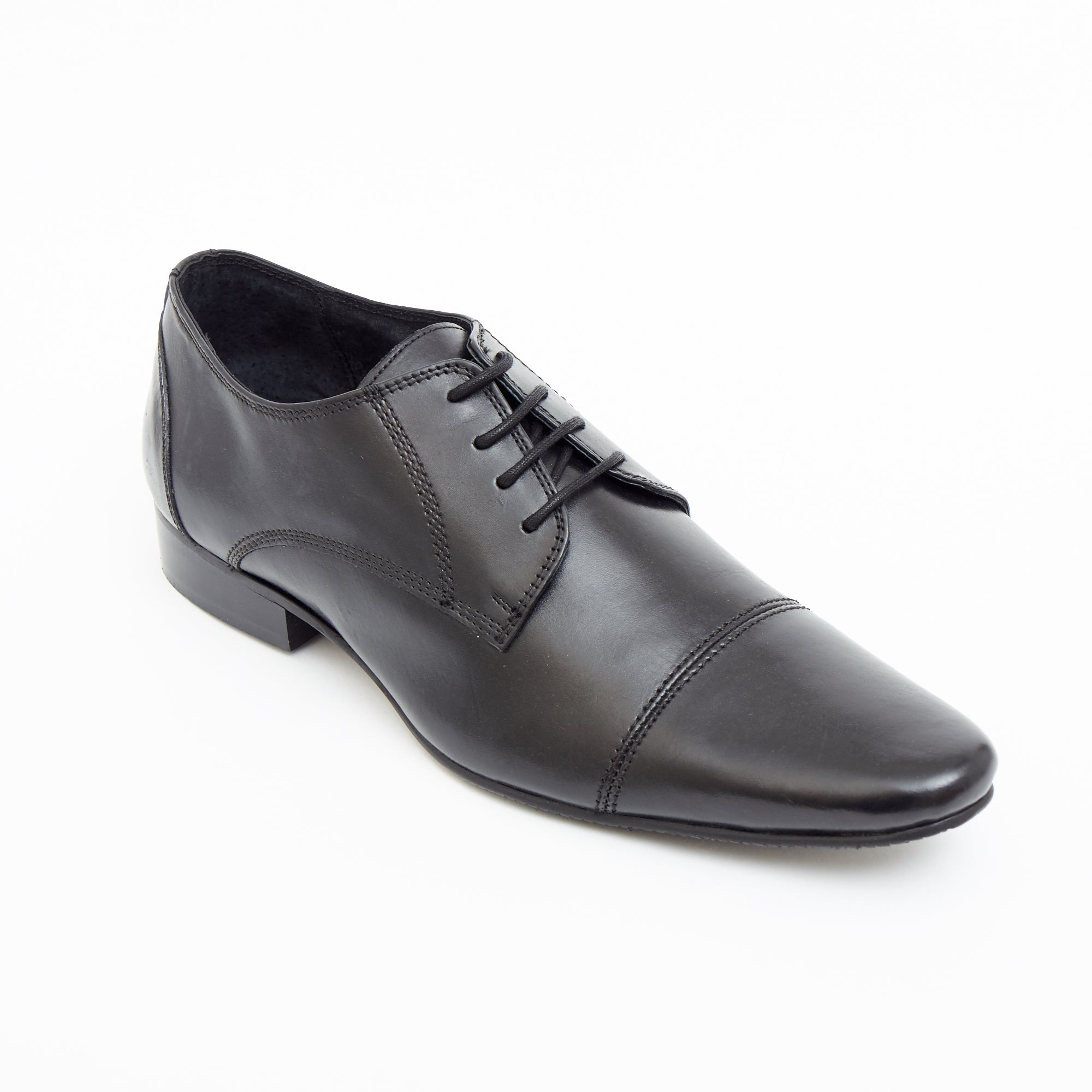 Mens Leather Formal Shoes -25202_Black