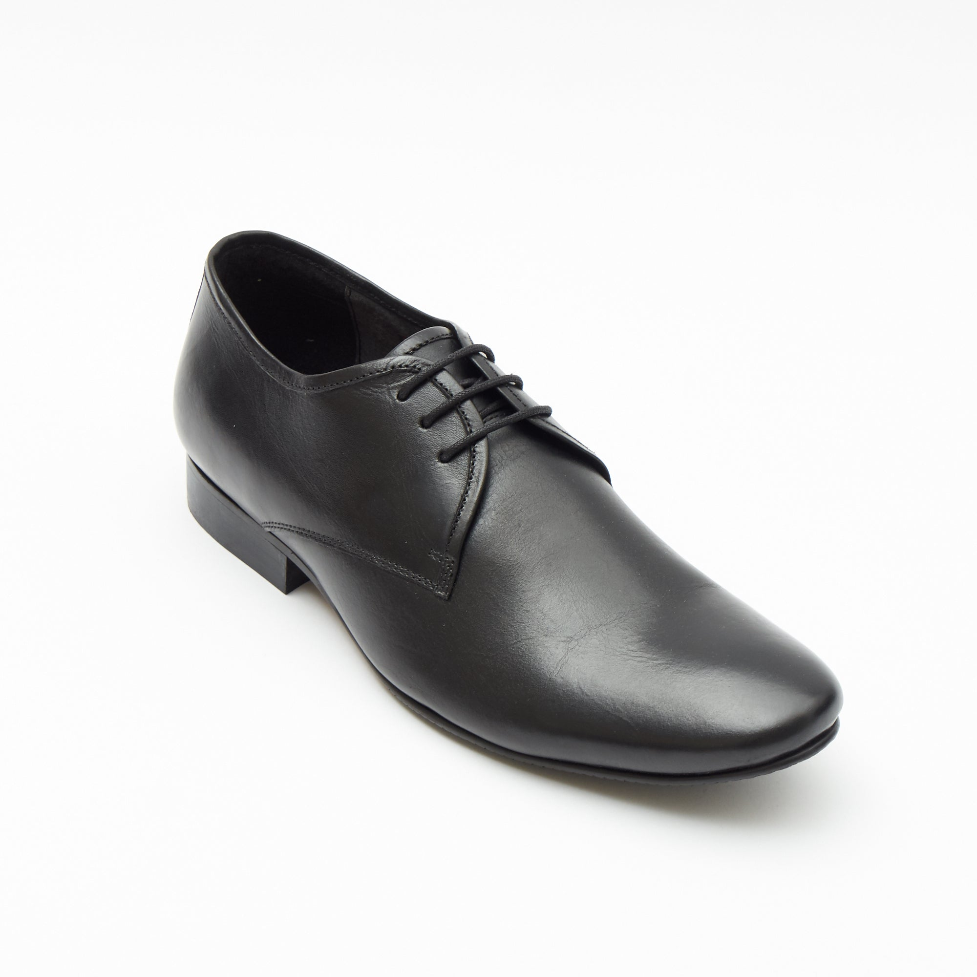 Mens Leather Formal Shoes- 50540_Black