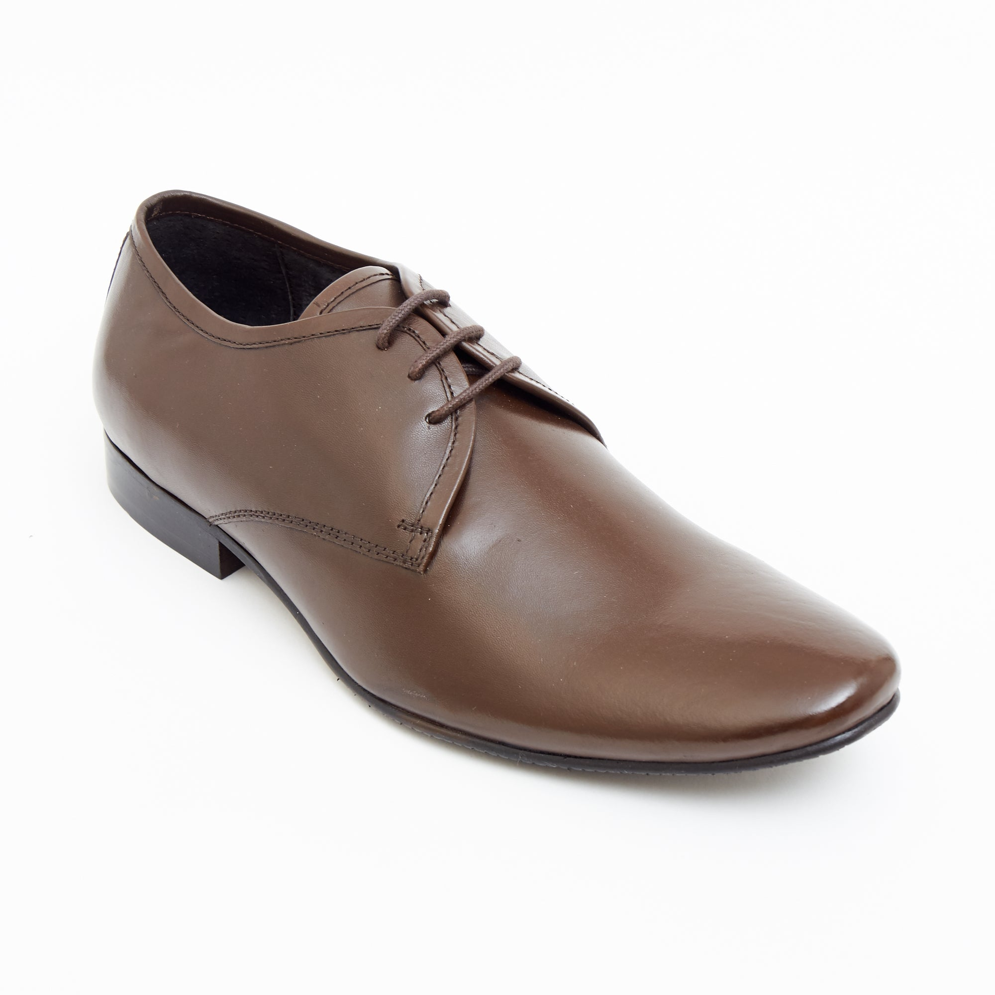 Mens Leather Formal Shoes- 50540_Brown